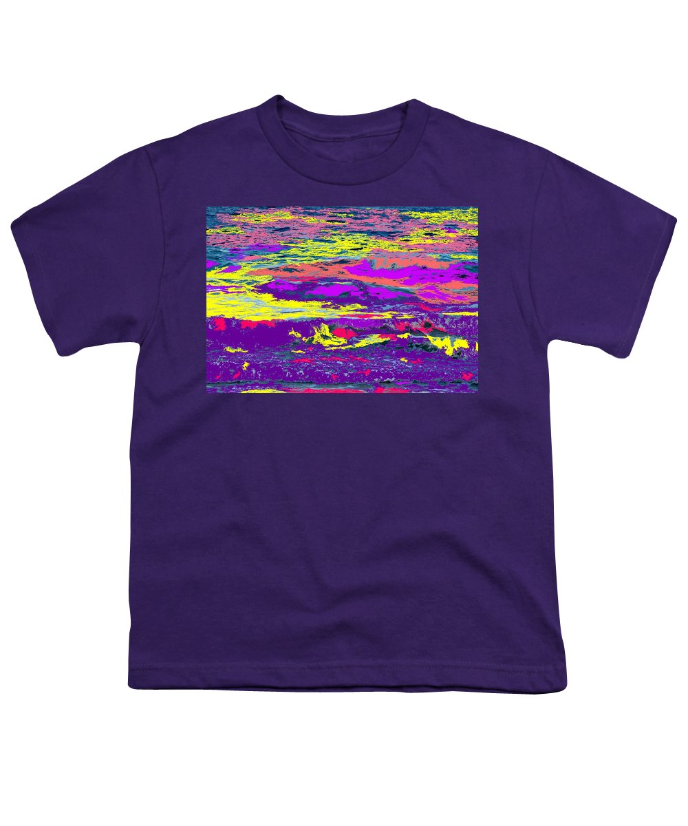 Ocean Youth T-Shirt featuring the photograph Fiery Passion by Ian MacDonald