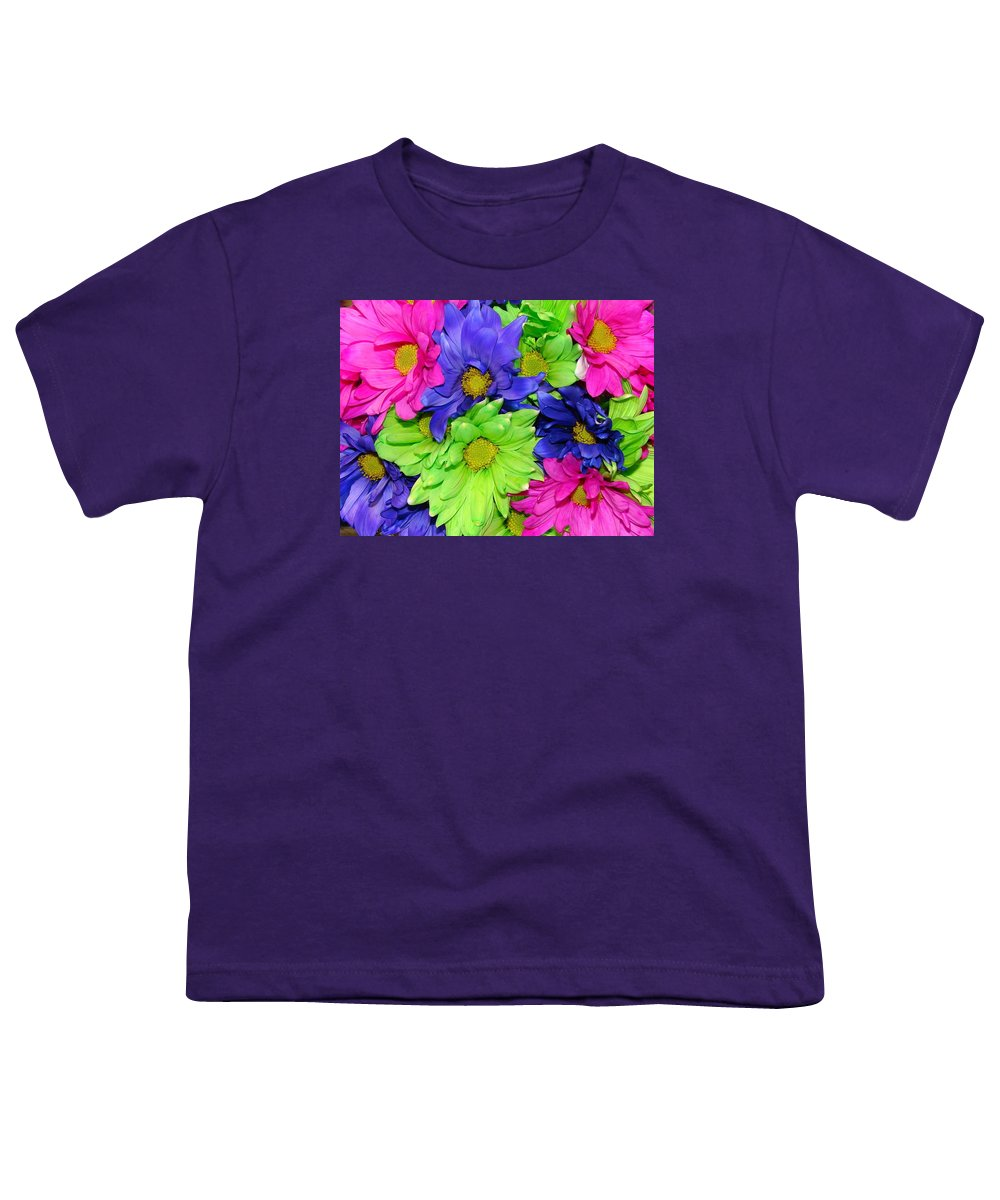 Flowers Youth T-Shirt featuring the photograph Happiness by J R  Seymour