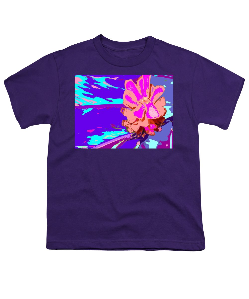 Flower Youth T-Shirt featuring the photograph Mystical Flower by Ian MacDonald