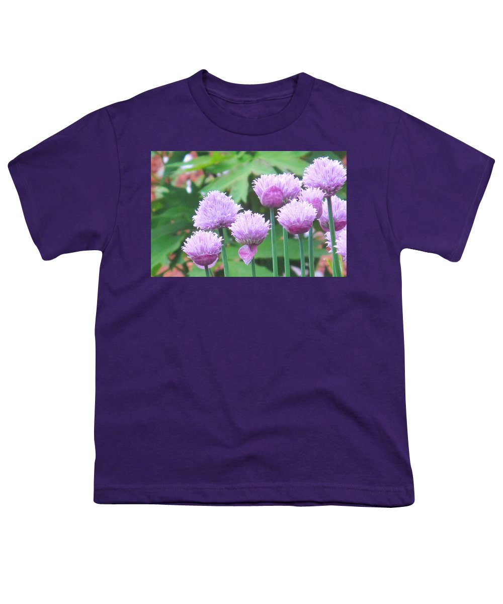 Flower Youth T-Shirt featuring the photograph Stand Tall by Ian MacDonald