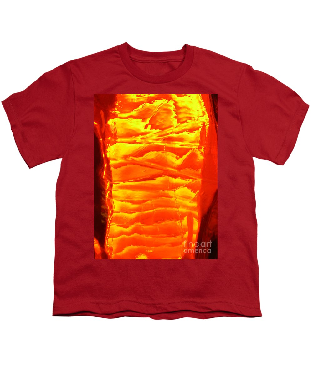 Orange Youth T-Shirt featuring the photograph Abstract Orange by Amanda Barcon