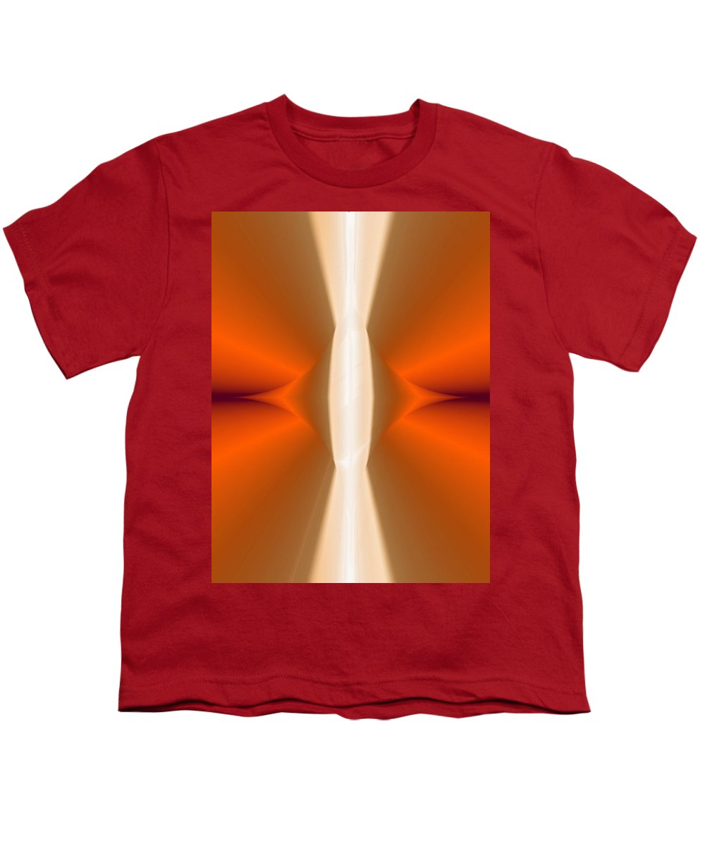 Digital Painting Youth T-Shirt featuring the digital art Abstract309b by David Lane