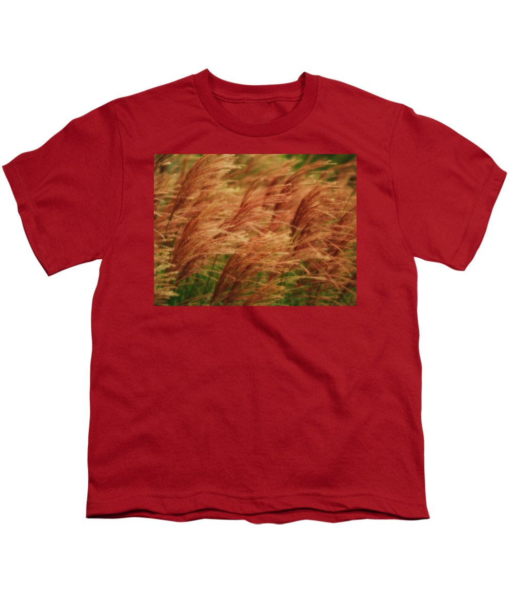 Win Youth T-Shirt featuring the photograph Blowing In The Wind by Gaby Swanson