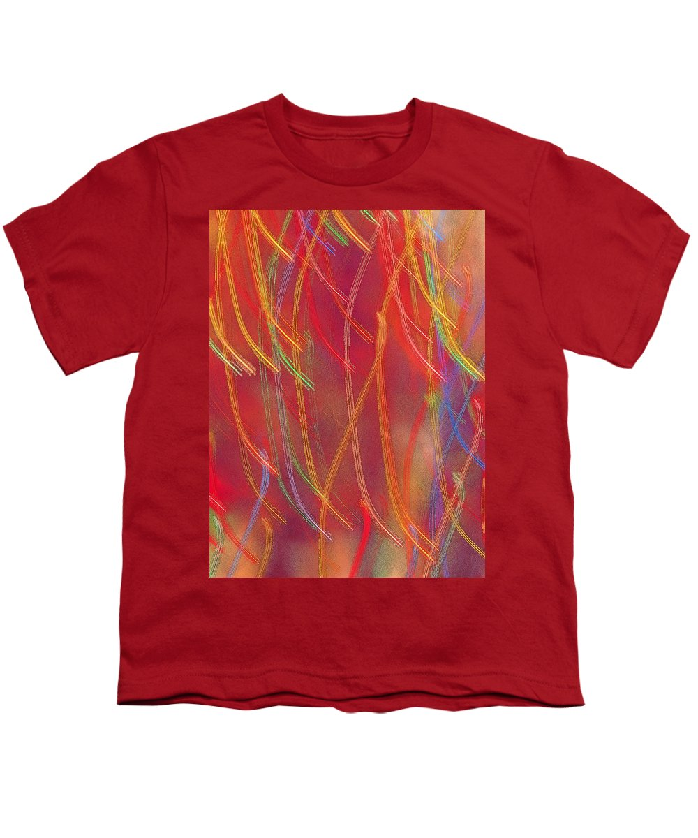 Abstract Youth T-Shirt featuring the photograph Celebration by Gaby Swanson