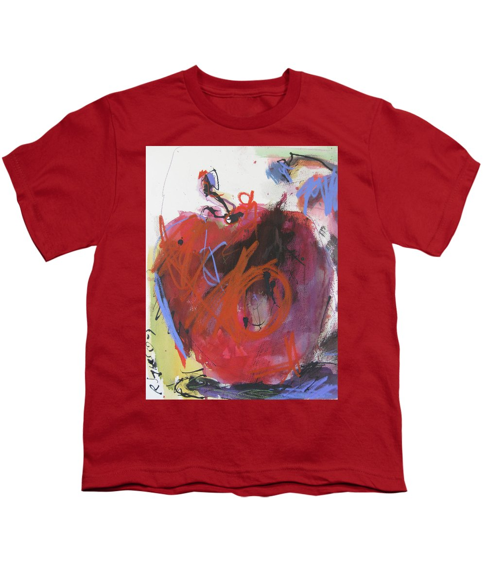 Apple Youth T-Shirt featuring the painting Dr. Repellent by Robert Joyner
