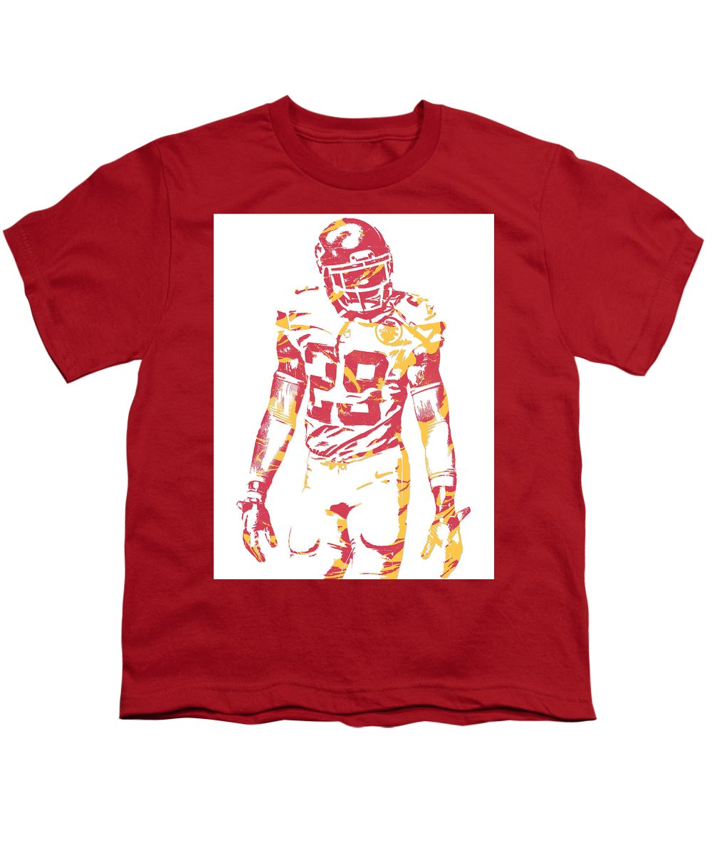 premium selection 330f1 570ac Eric Berry Kansas City Chiefs Pixel Art Youth T-Shirt