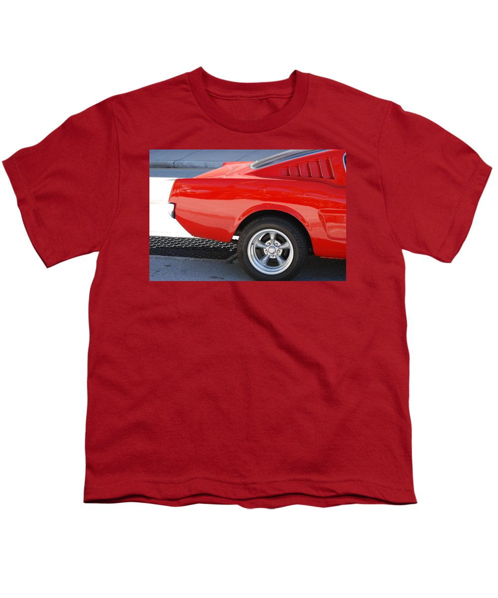 Ford Youth T-Shirt featuring the photograph Fastback Mustang by Rob Hans