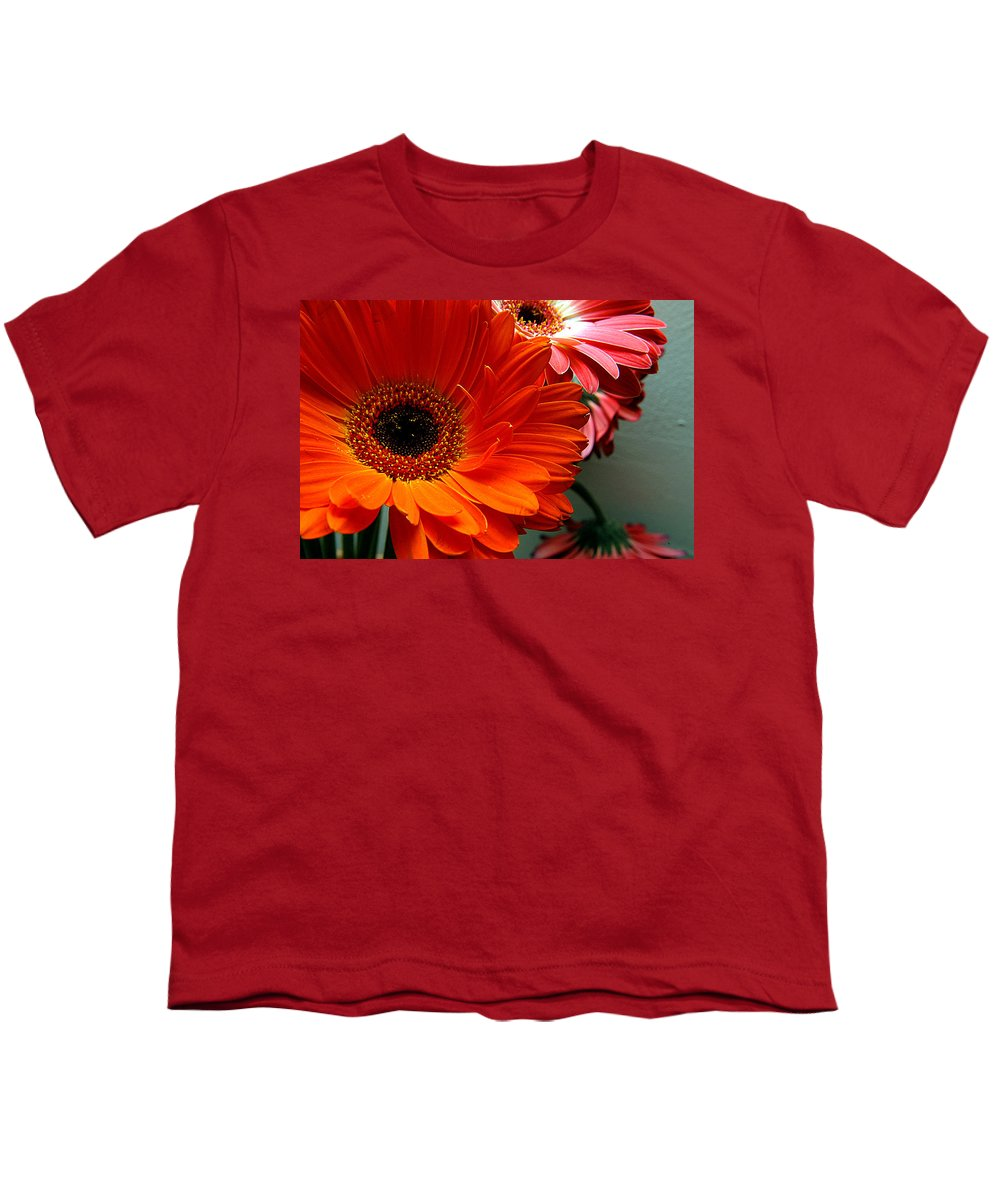 Clay Youth T-Shirt featuring the photograph Floral Art by Clayton Bruster