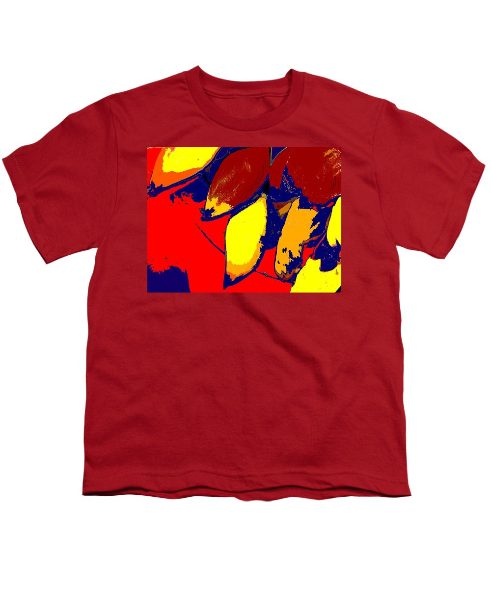 Red Youth T-Shirt featuring the photograph Forbidden Fruit by Ian MacDonald