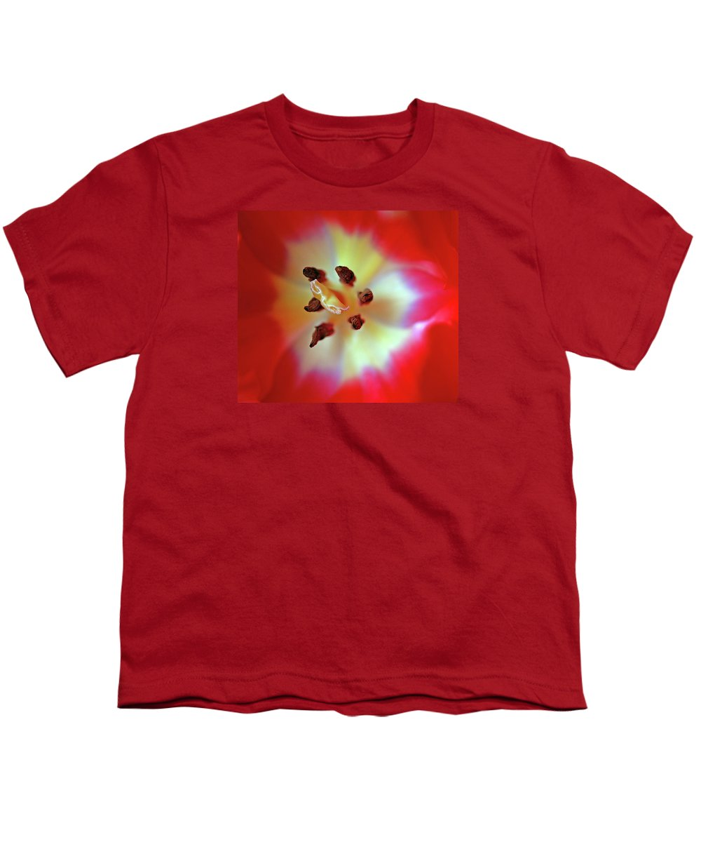 Tulip Youth T-Shirt featuring the photograph Inner Spirit by Bill Morgenstern