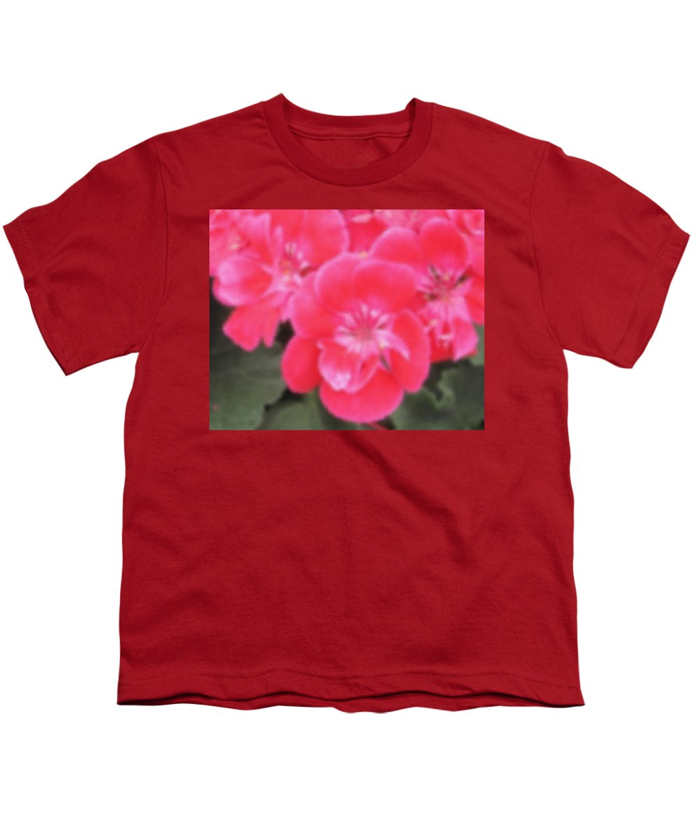 Pink Youth T-Shirt featuring the photograph Pink by Ian MacDonald