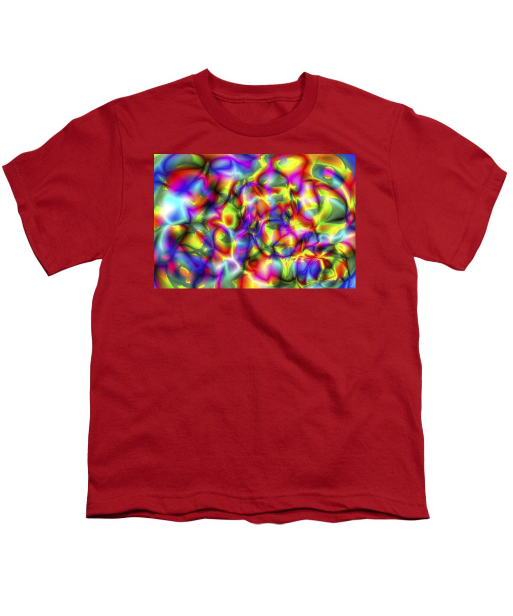 Crazy Youth T-Shirt featuring the digital art Vision 2 by Jacques Raffin