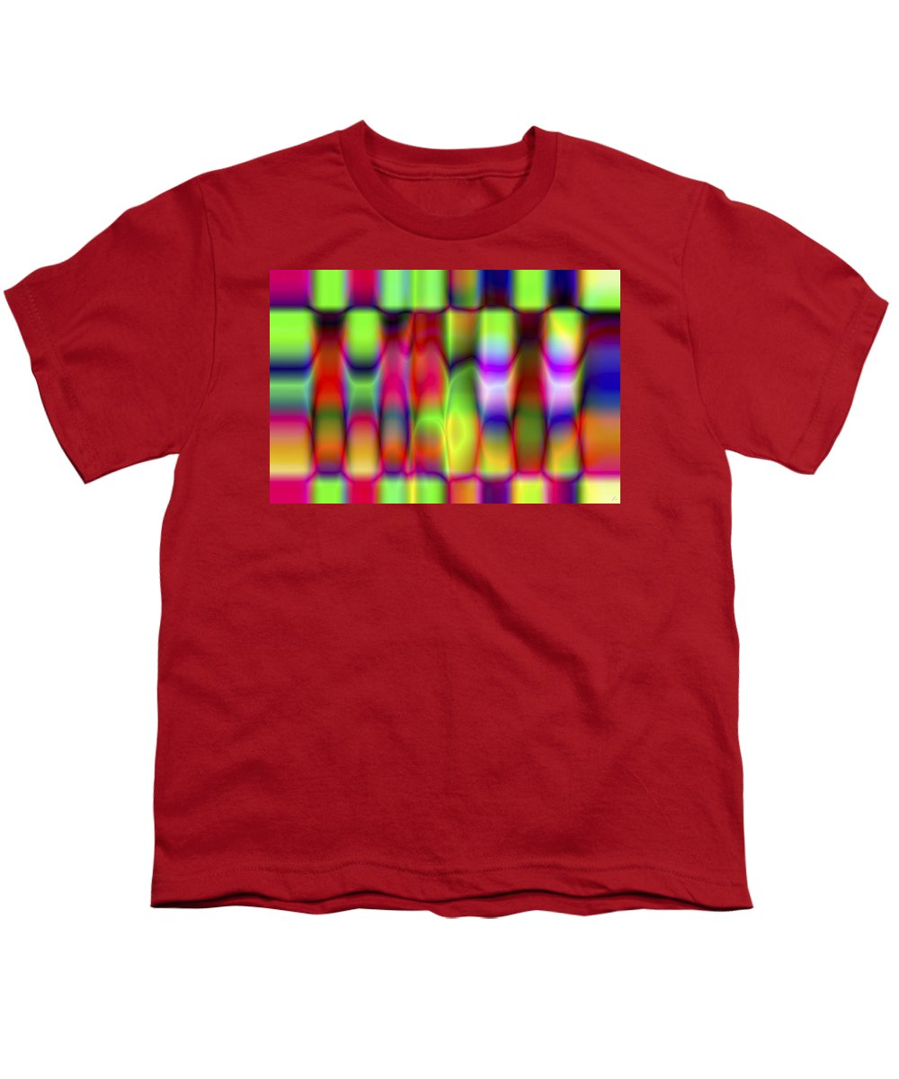 Crazy Youth T-Shirt featuring the digital art Vision 9 by Jacques Raffin