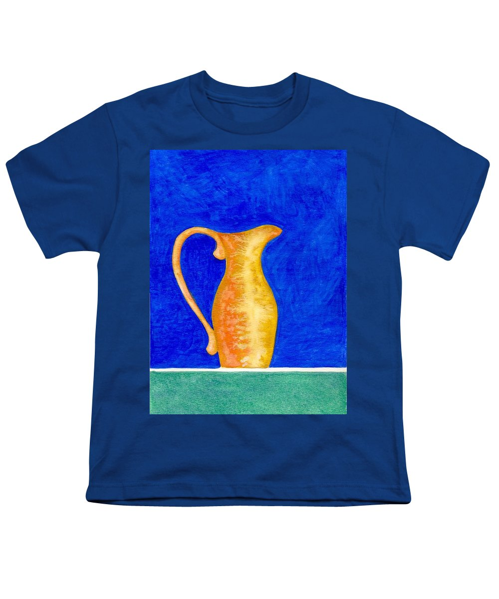 Still Life Youth T-Shirt featuring the painting Pitcher 2 by Micah Guenther