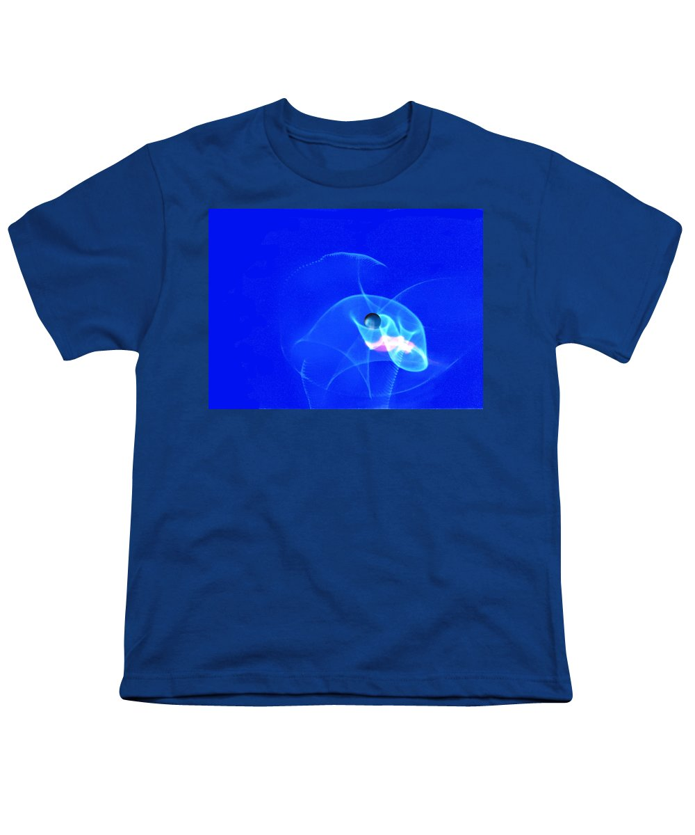 Abstract Youth T-Shirt featuring the photograph Apparition Pearl by Steve Karol