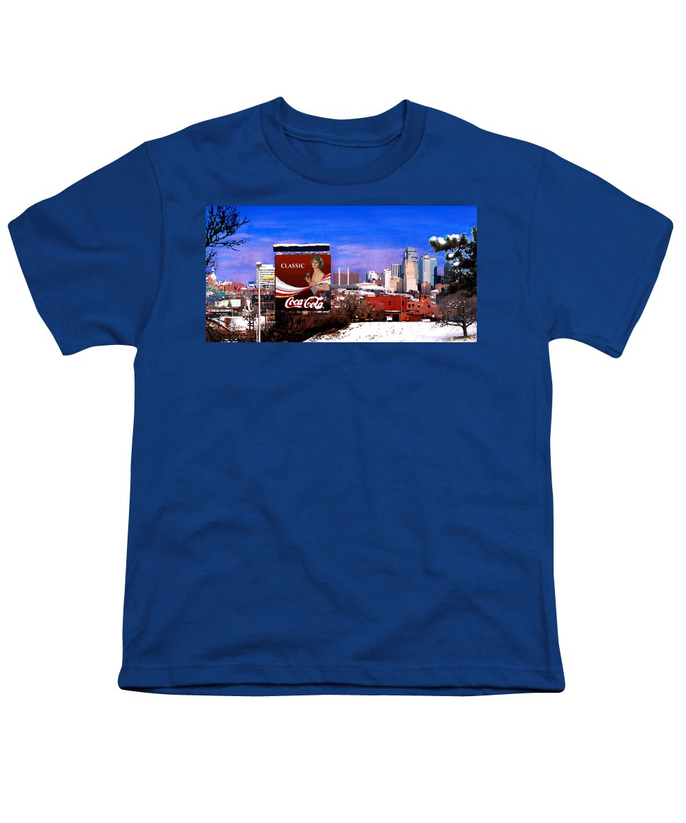 Landscape Youth T-Shirt featuring the photograph Classic by Steve Karol