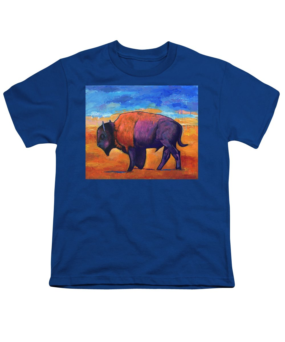 Montana Bison Youth T-Shirts