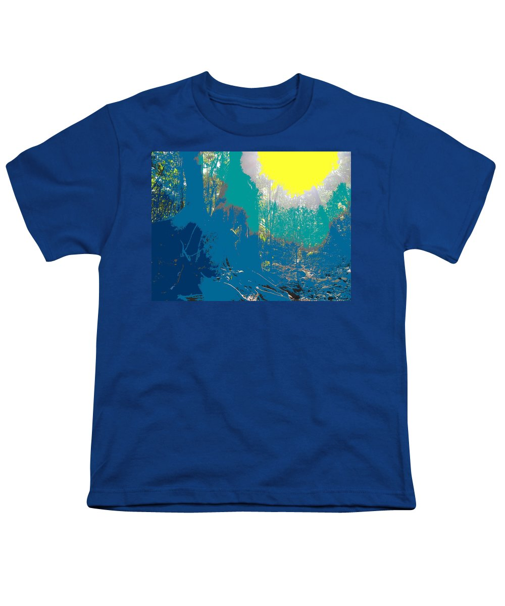 Rainforest Youth T-Shirt featuring the photograph In The Rainforest by Ian MacDonald