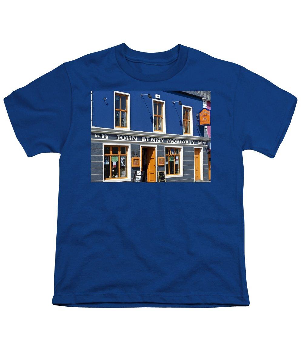 Irish Youth T-Shirt featuring the photograph John Benny by Teresa Mucha