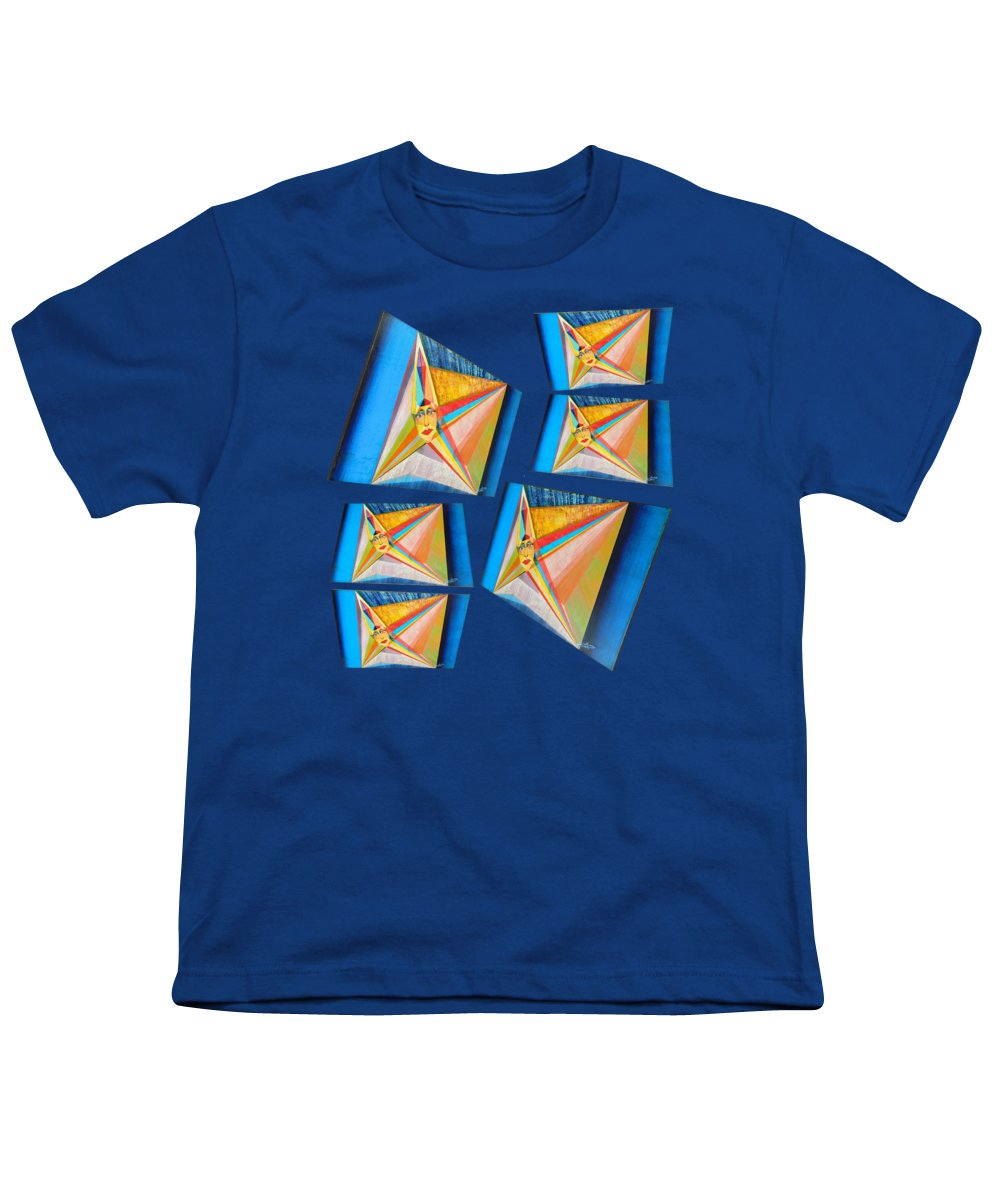 Spirituality Youth T-Shirt featuring the painting M A B Imperatrice C by Michael Bellon