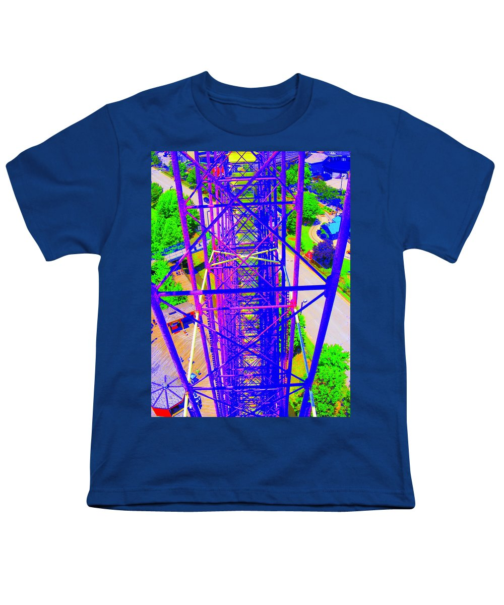 Still Life Youth T-Shirt featuring the photograph On Top Of The World by Ed Smith
