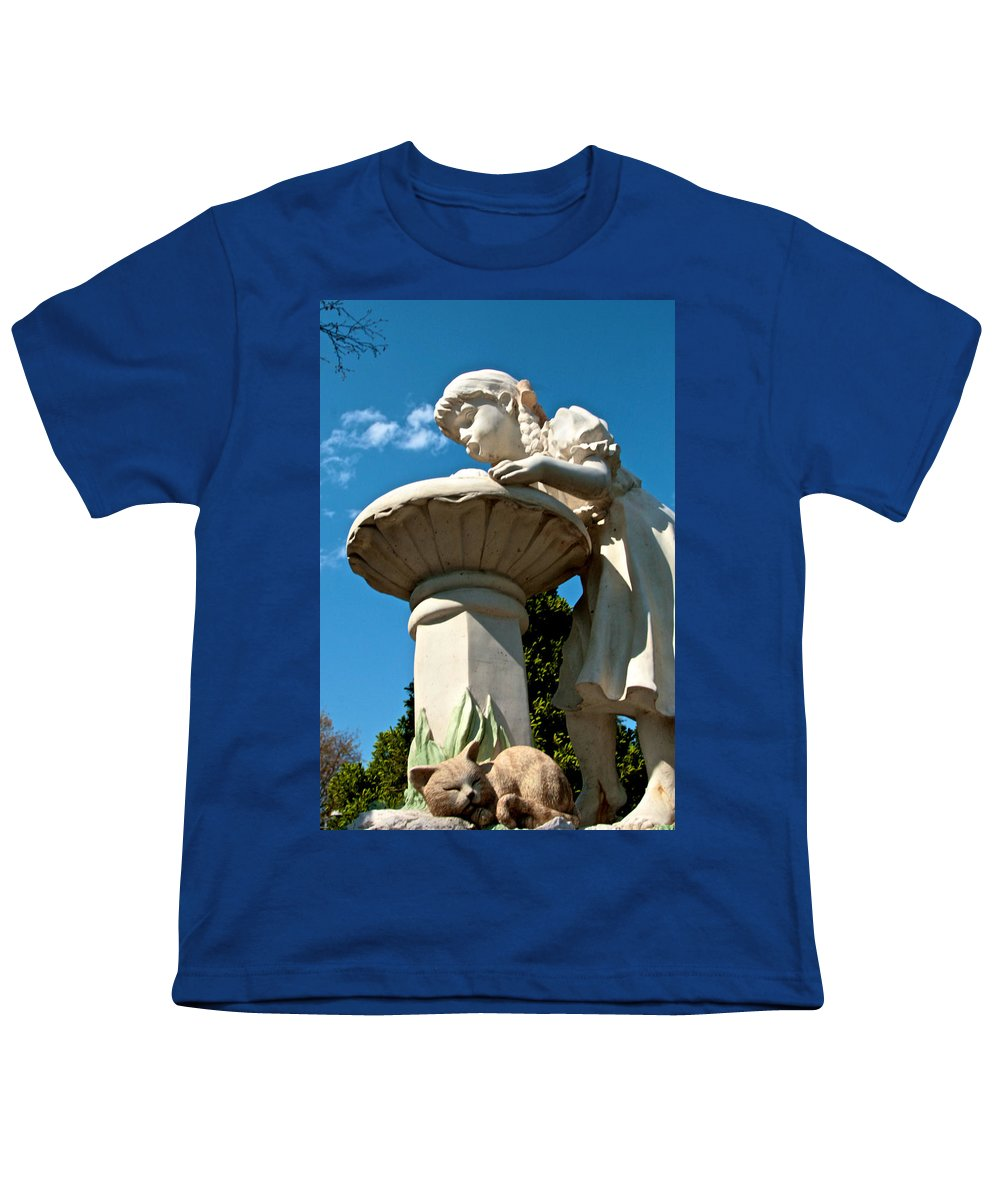 Water Youth T-Shirt featuring the photograph Thirst by Robert Pearson