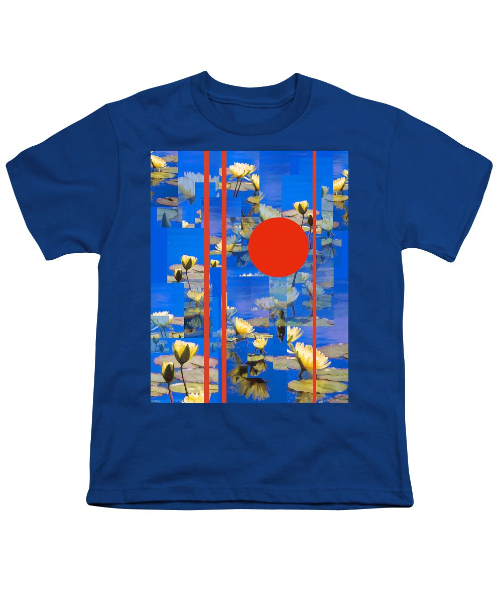 Flowers Youth T-Shirt featuring the photograph Vertical Horizon by Steve Karol