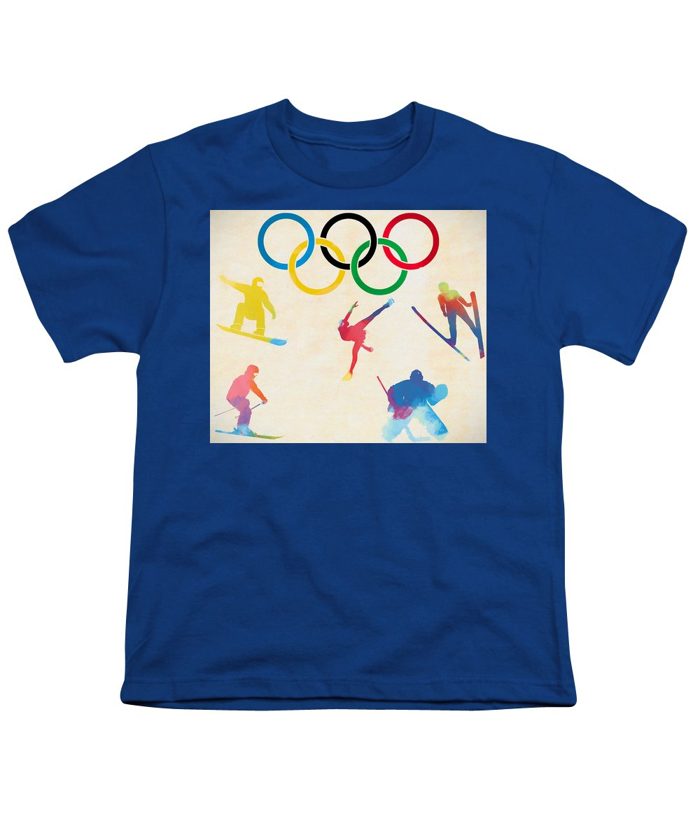 Olympic Figure Skating Youth T-Shirts