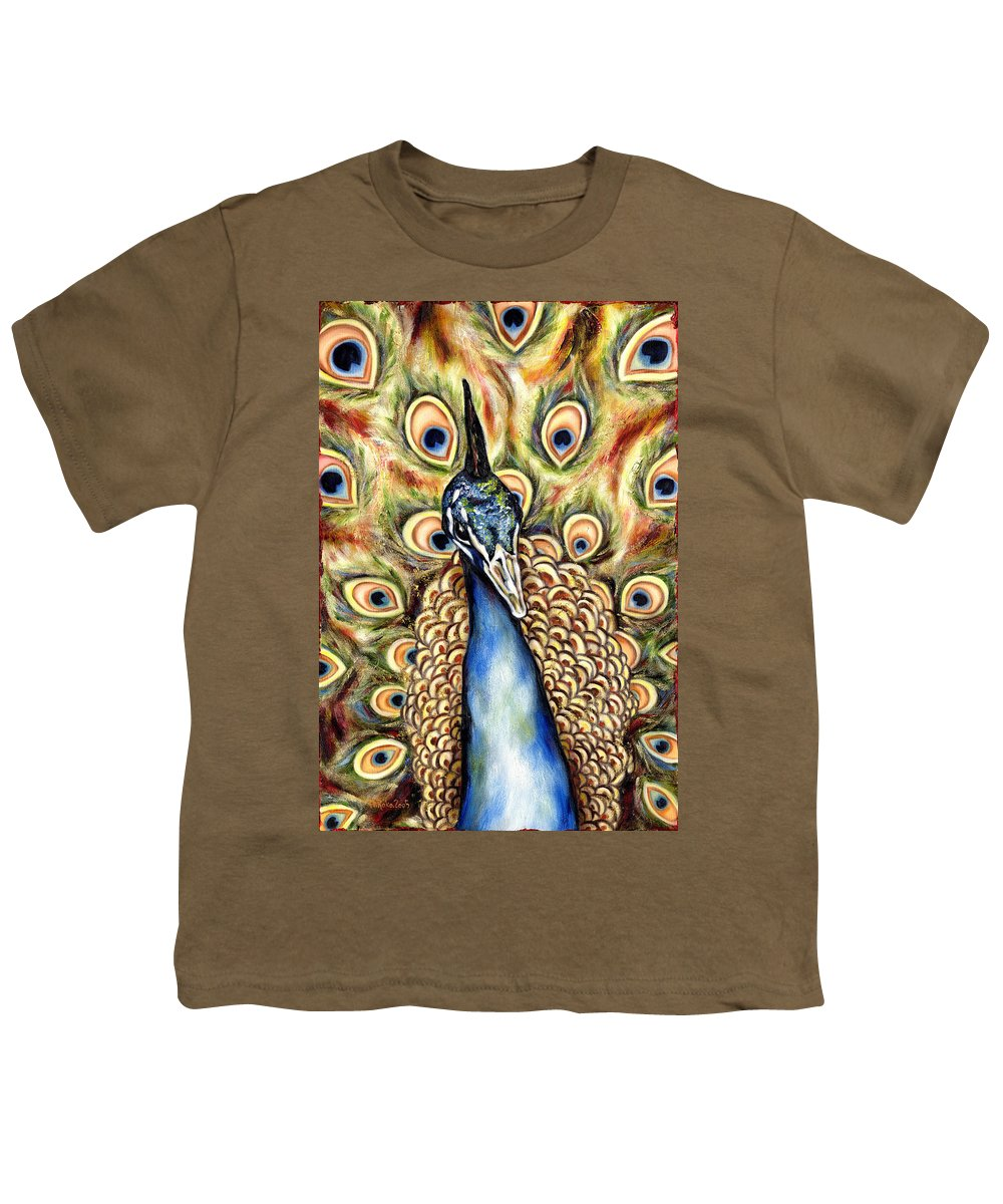 Bird Youth T-Shirt featuring the painting Applause by Hiroko Sakai