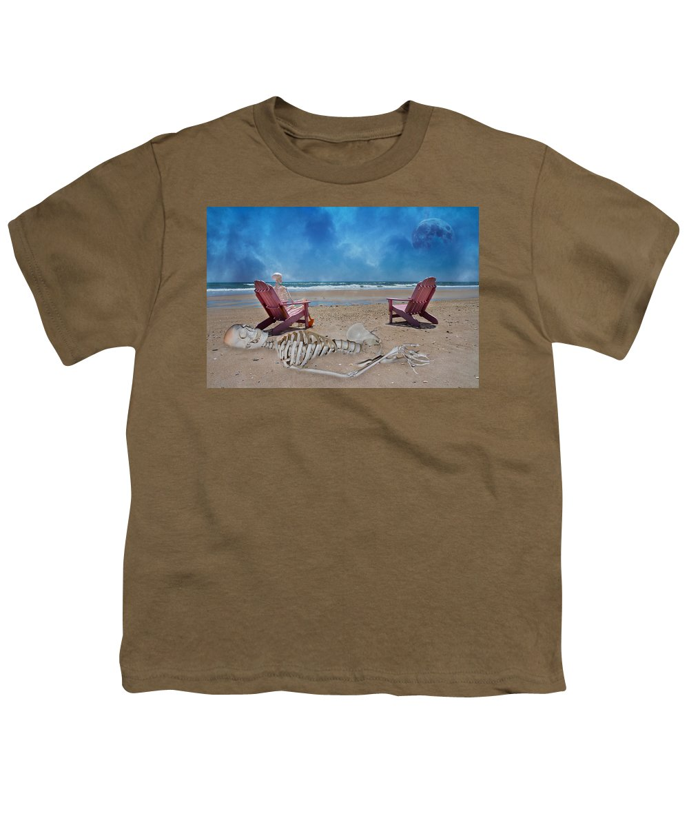 Grateful Youth T-Shirt featuring the photograph Bargaining With The Moon by Betsy Knapp