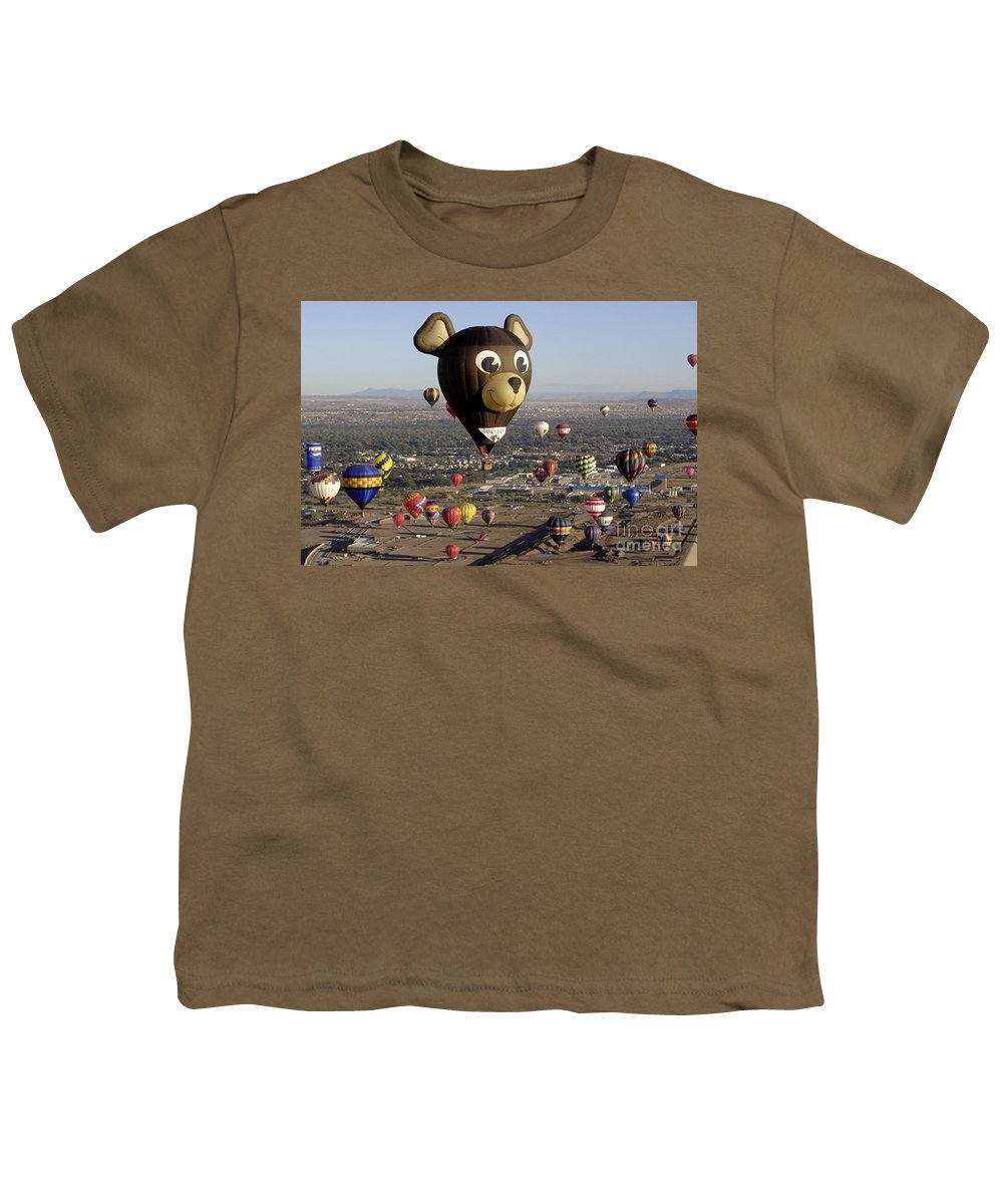 Albuquerque Youth T-Shirt featuring the photograph Bear by Mary Rogers