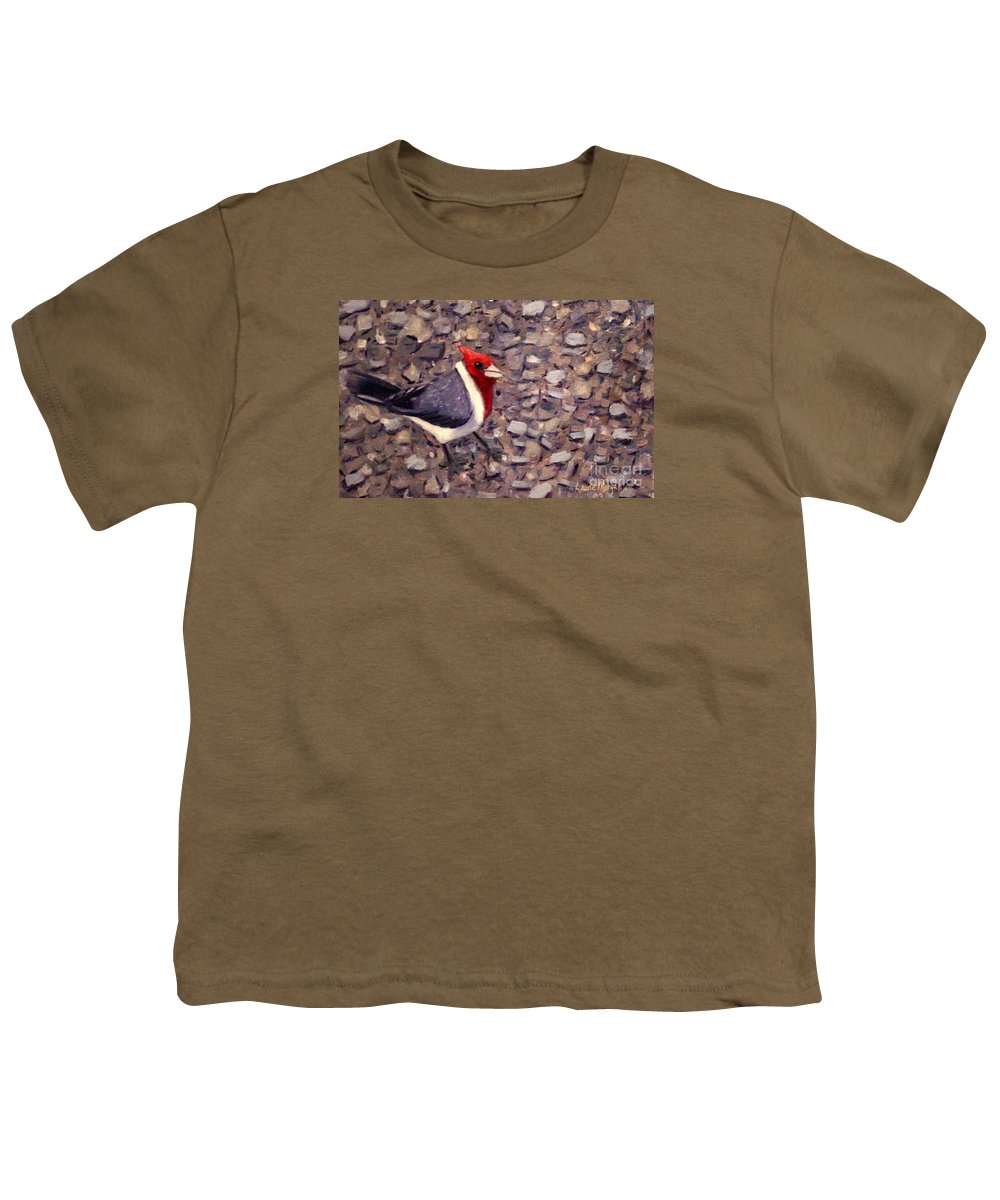 Bird Youth T-Shirt featuring the painting Home Turf by Laurie Morgan