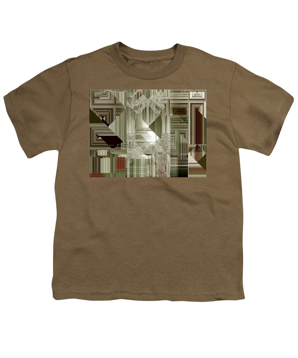Abstract Youth T-Shirt featuring the painting Indecision I by RC DeWinter
