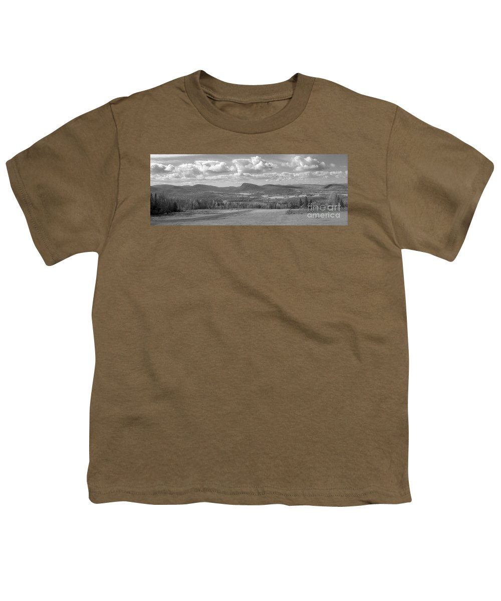Lake Willoughby Youth T-Shirt featuring the photograph Lake Willoughby Vermont by Richard Rizzo