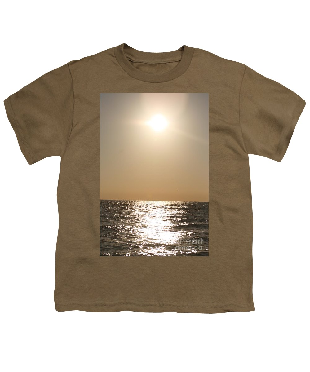 Silver Youth T-Shirt featuring the photograph Silver And Gold by Nadine Rippelmeyer