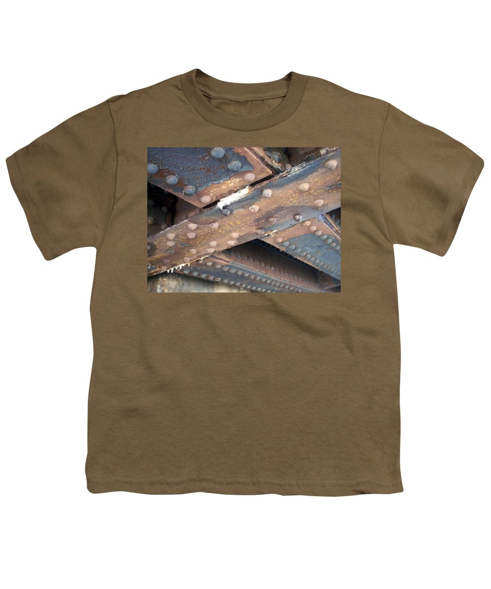 Urban Youth T-Shirt featuring the photograph Abstract Rust 2 by Anita Burgermeister