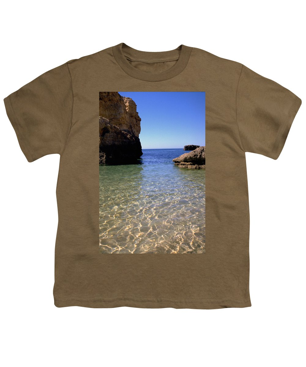 Algarve Youth T-Shirt featuring the photograph Algarve I by Flavia Westerwelle
