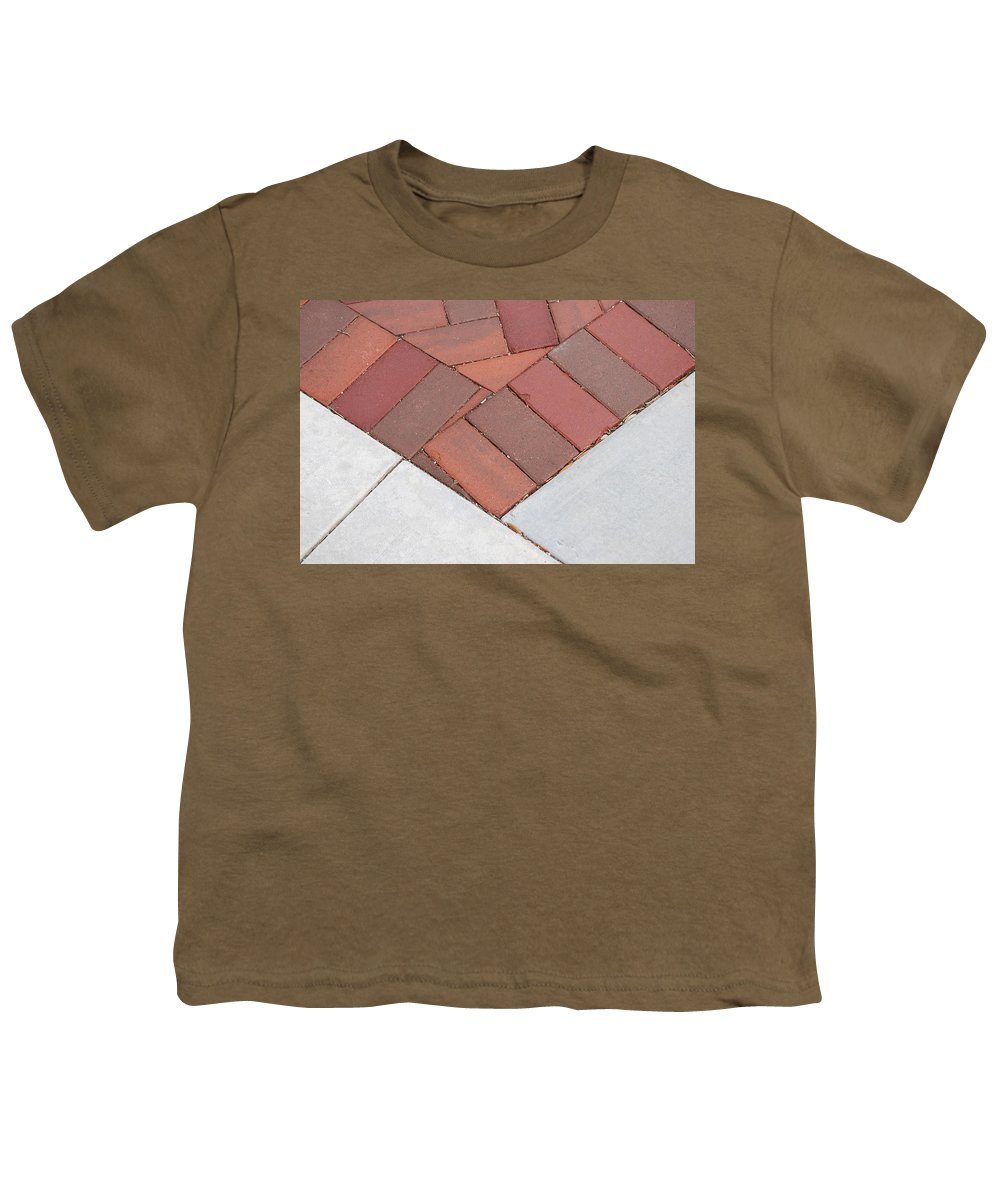 Bricks Youth T-Shirt featuring the photograph Angles by Rob Hans