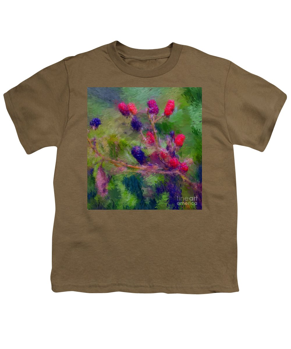 Nature Youth T-Shirt featuring the photograph Bear Fodder by David Lane