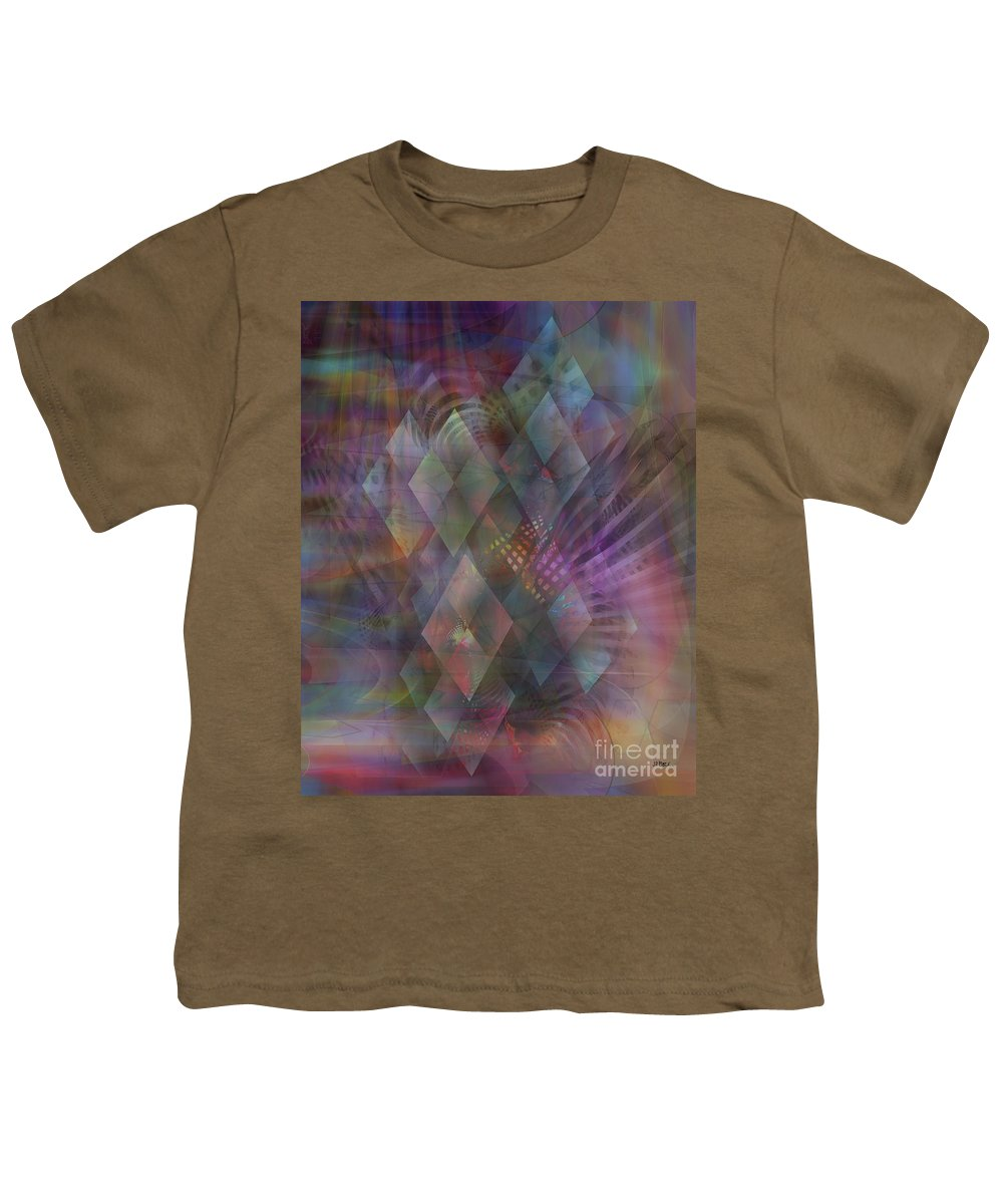 Bedazzled Youth T-Shirt featuring the digital art Bedazzled by John Beck