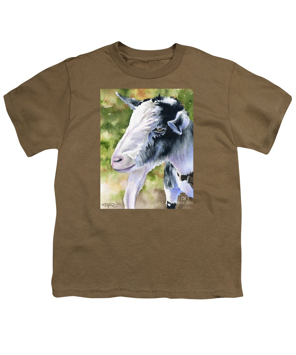 Billy Youth T-Shirt featuring the painting Billy Goat by David Rogers