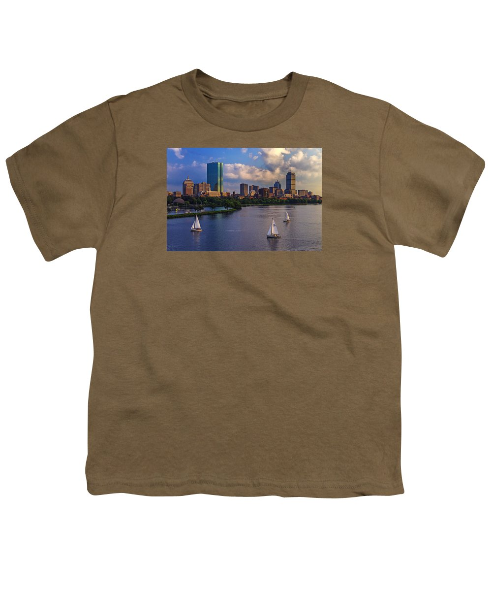Hancock Building Youth T-Shirts