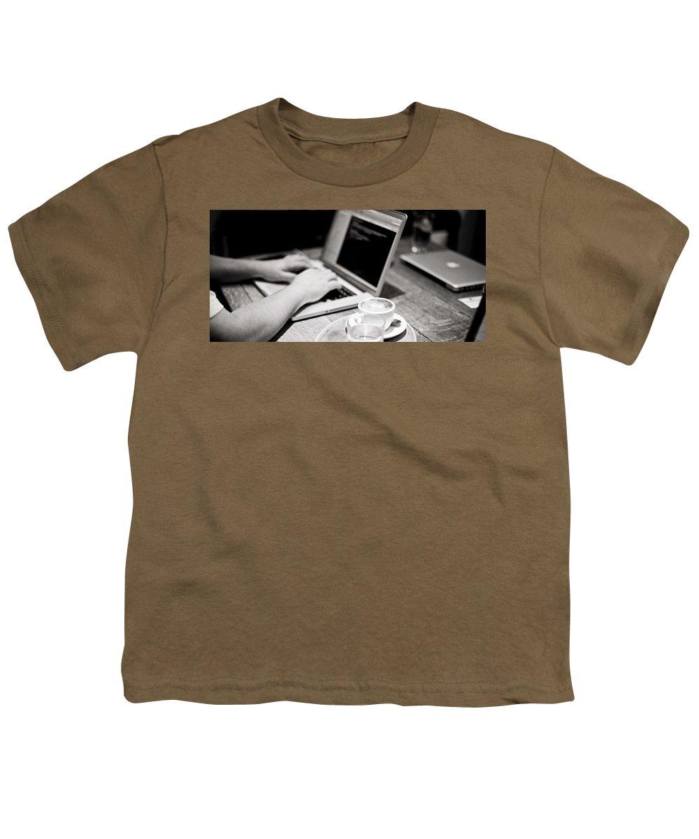 Bulk Sms Youth T-Shirt featuring the digital art Bulk SMS Developer API by Natasha Williams