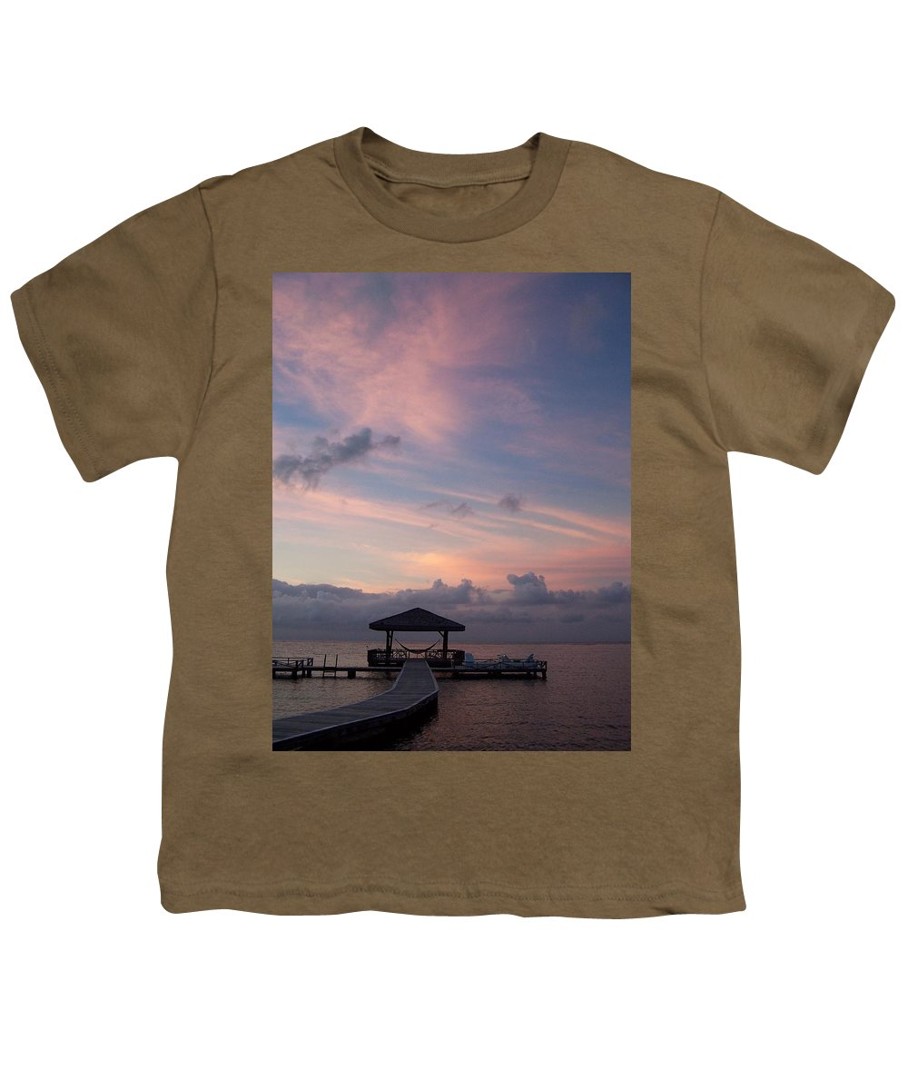 Ocean Youth T-Shirt featuring the photograph Caribbean Sunrise by Gale Cochran-Smith