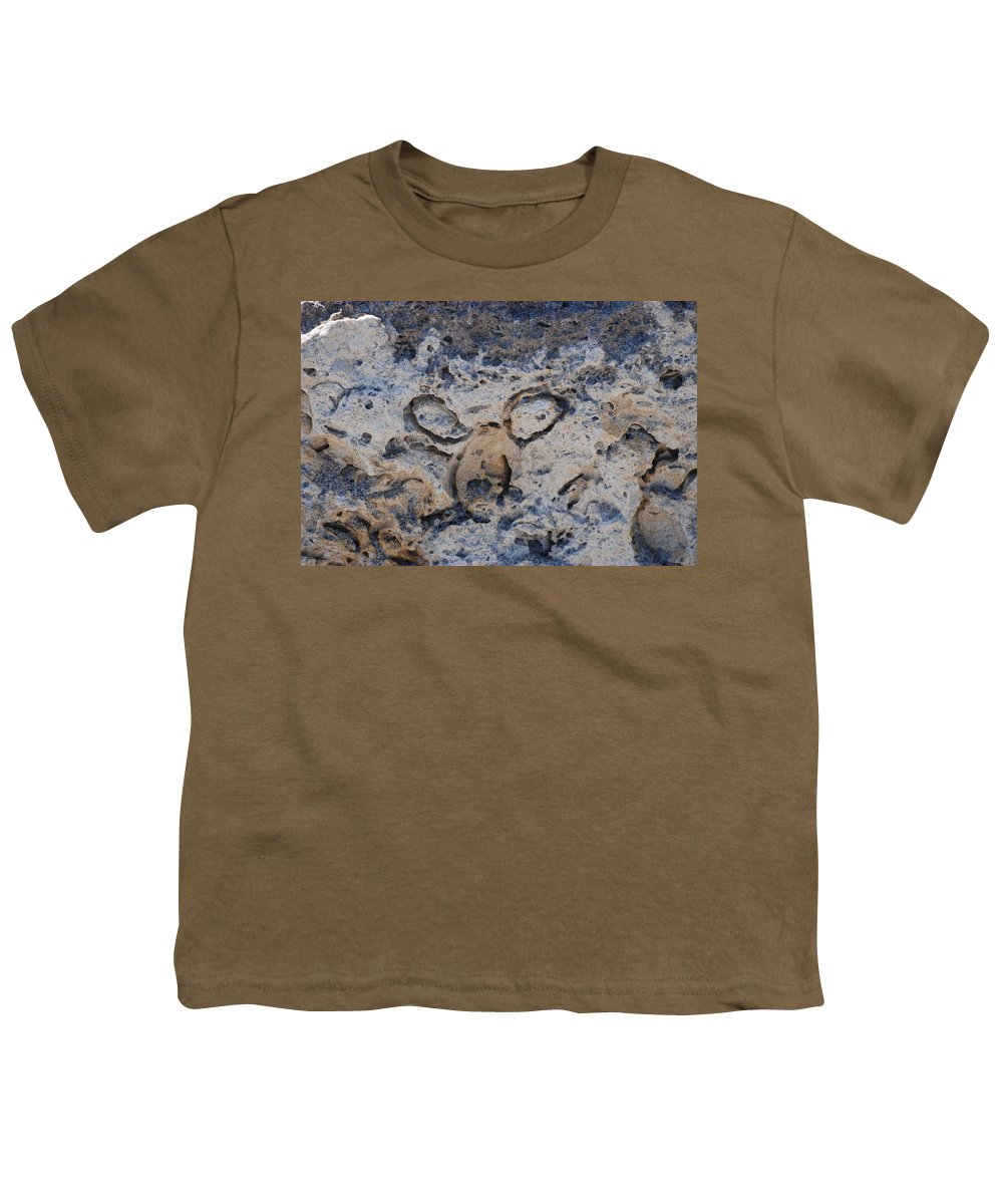 Ocean Youth T-Shirt featuring the photograph Carved Catface by Rob Hans