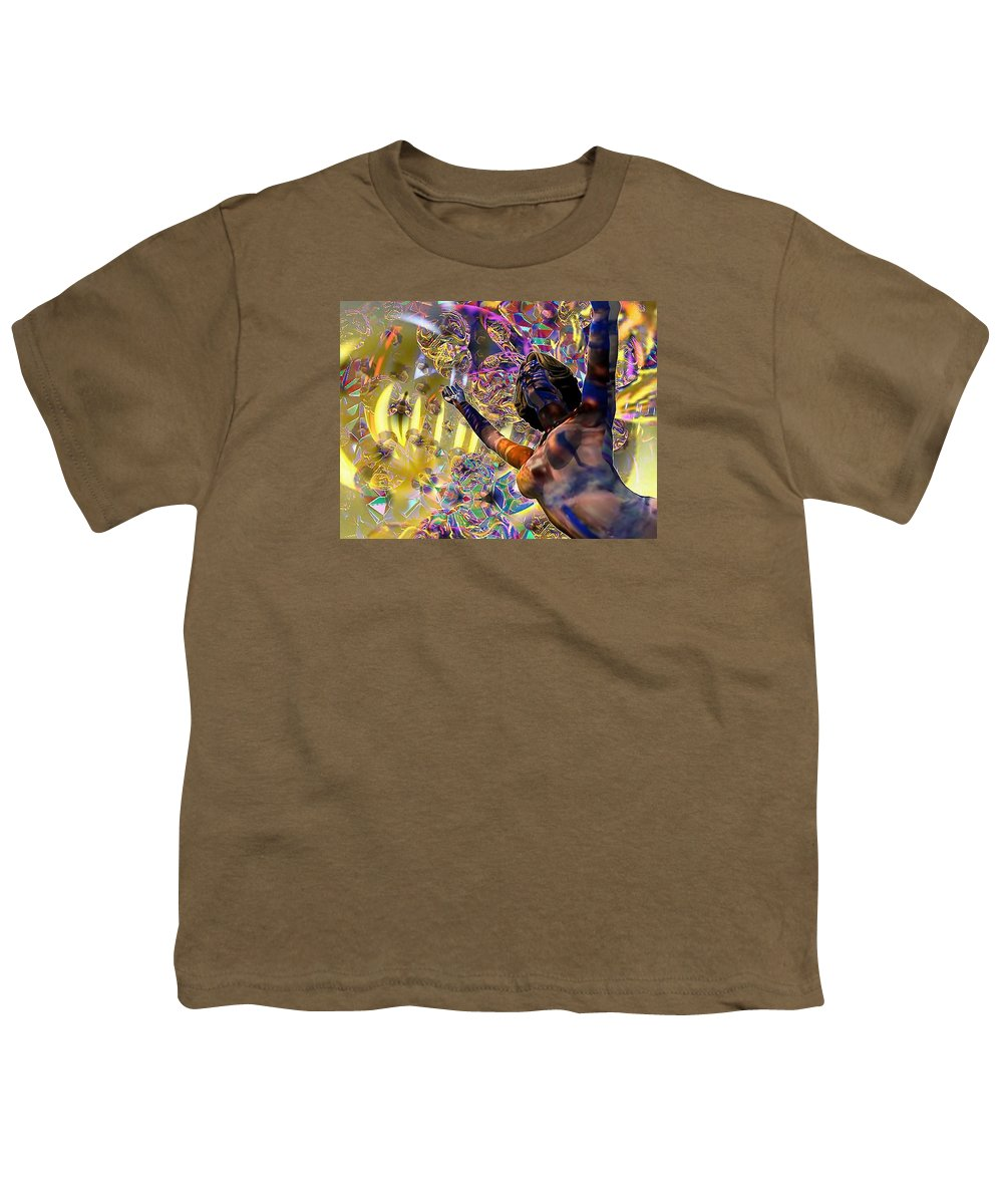 Woman Youth T-Shirt featuring the digital art Celebration Spirit by Dave Martsolf