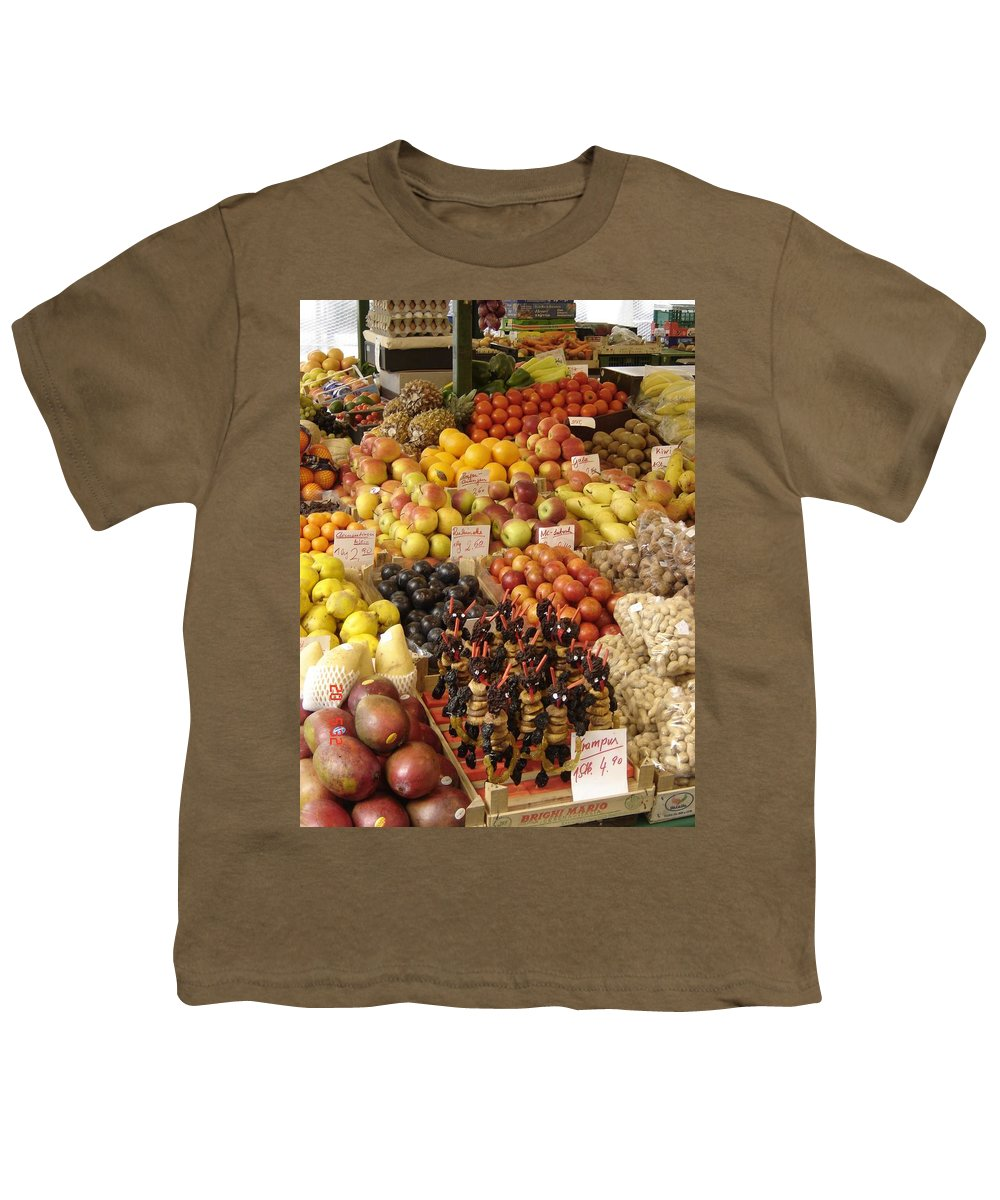 Food Youth T-Shirt featuring the photograph Christmas Treasures by Mary Rogers