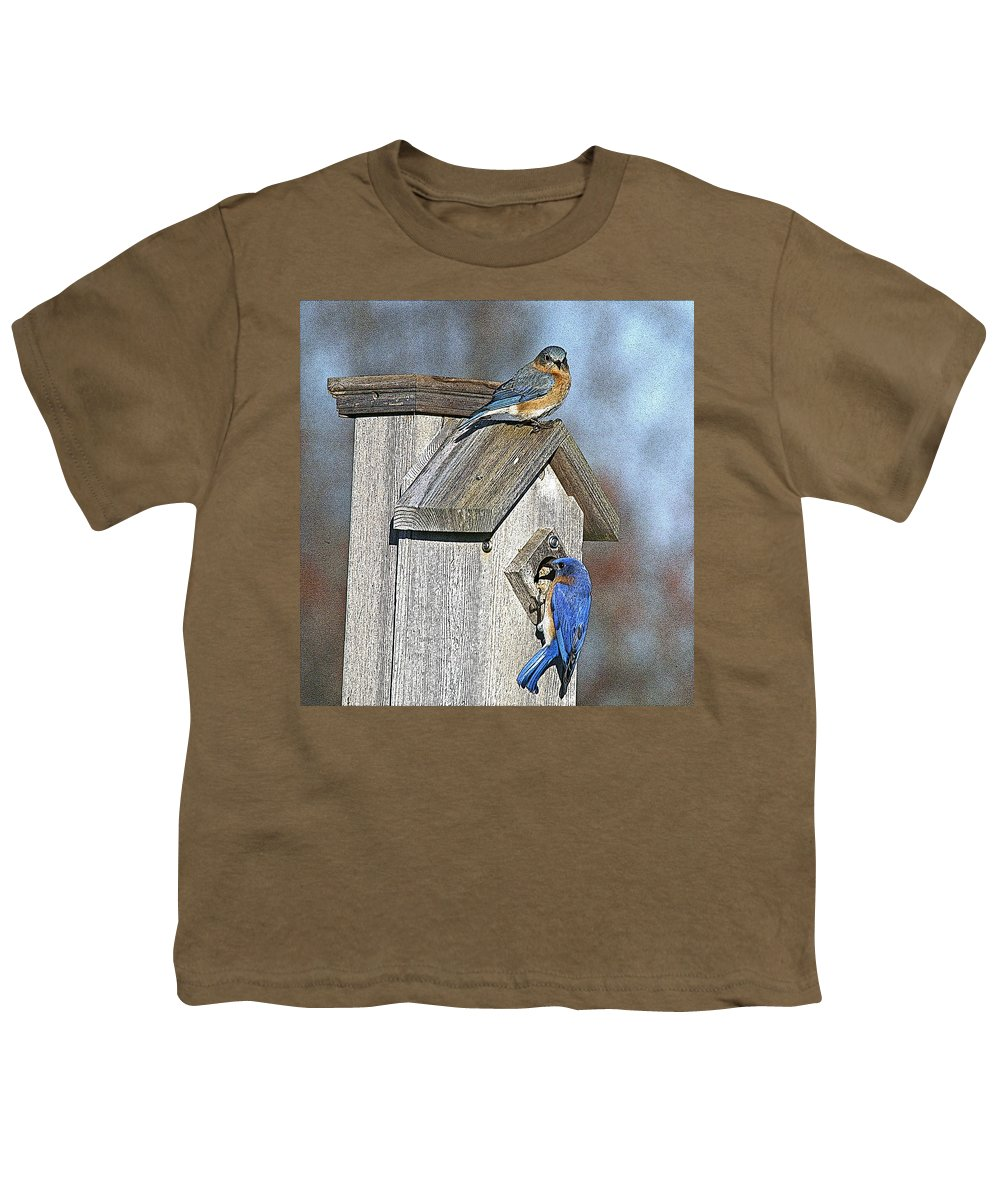 Nature Youth T-Shirt featuring the photograph Cleaning House by Robert Pearson