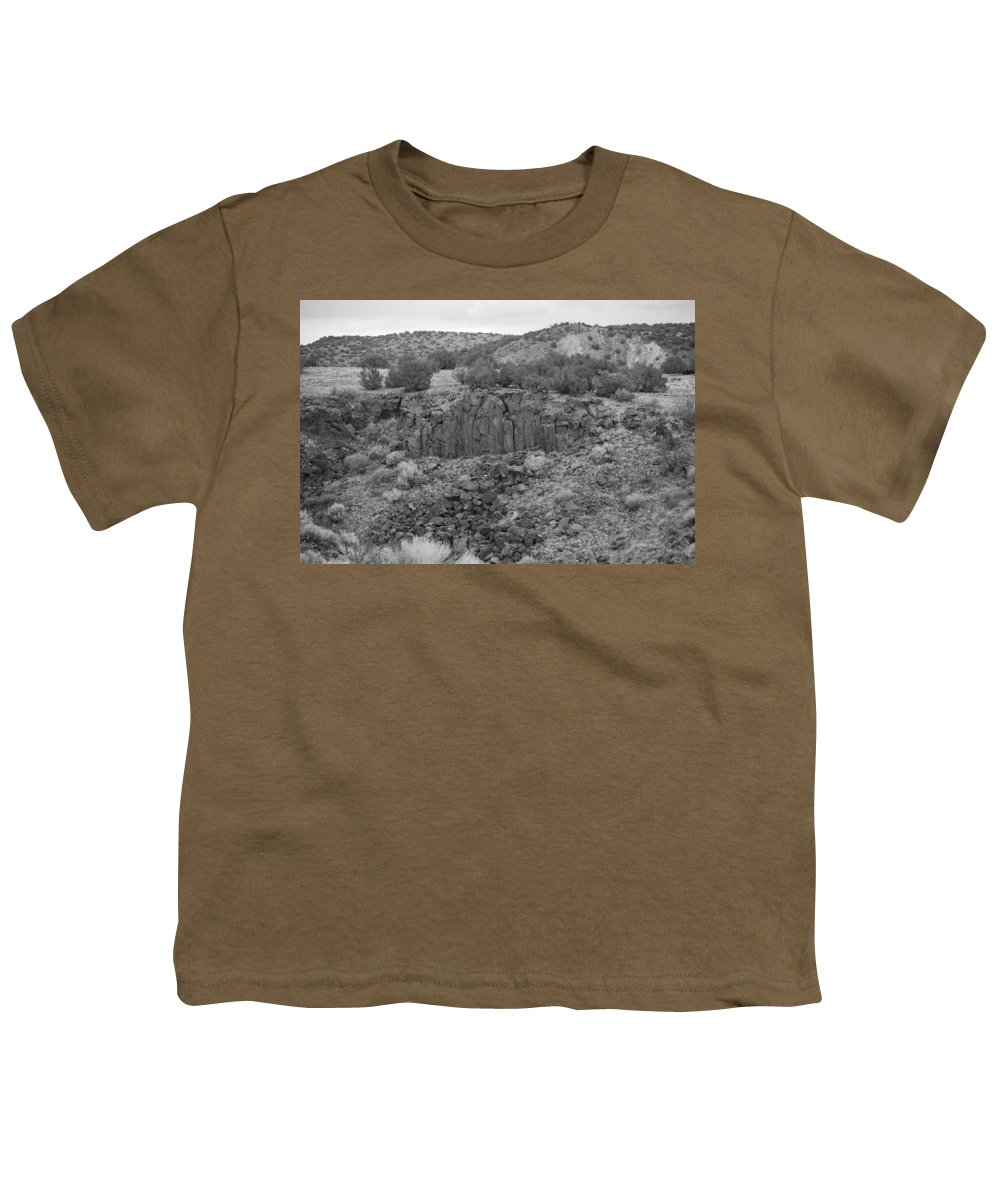 Rocks Youth T-Shirt featuring the photograph Cochiti Rocks by Rob Hans