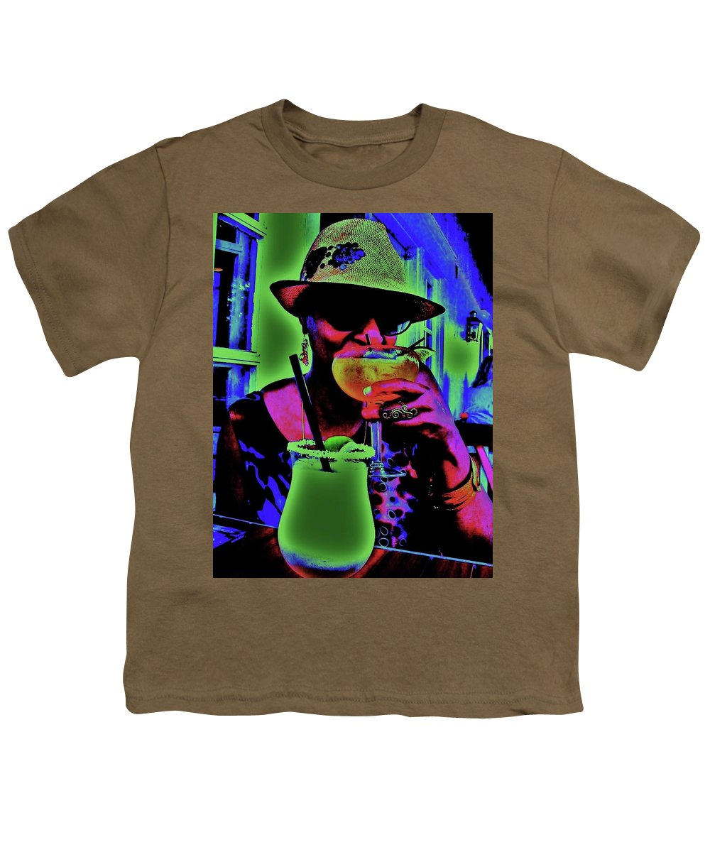 Cocktails Youth T-Shirt featuring the photograph Cocktails Anyone by Diana Dearen